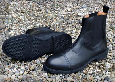 Oak Zip Paddock Boots